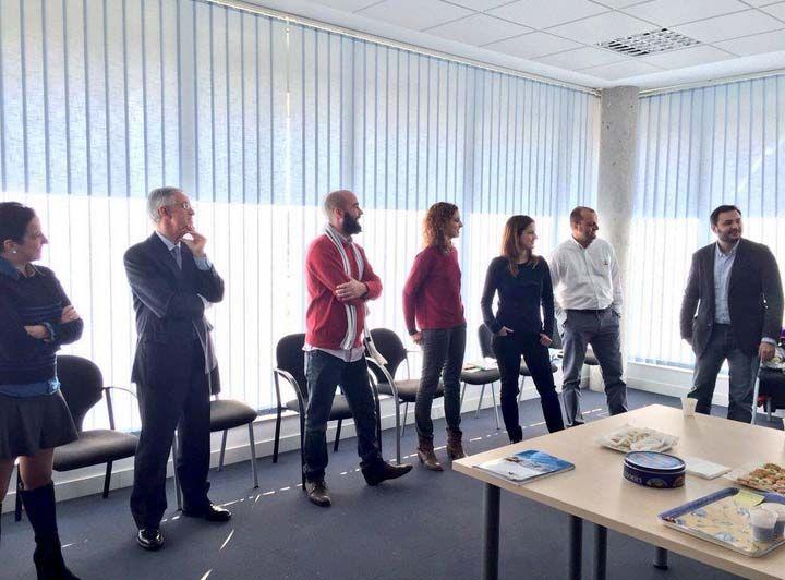 Imagen de los asistentes al sexto coffee break del Espacio de Iniciativas Empresariales